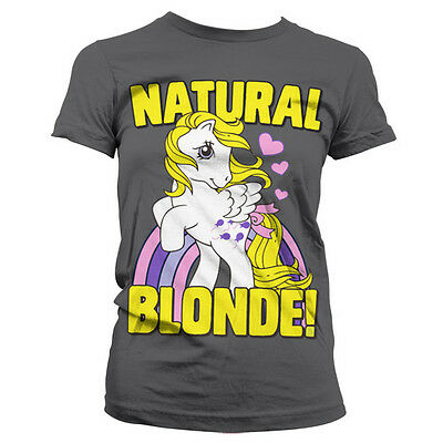 Officially Licensed My Little Pony- Natural Blonde Women T-Shirt S-XXL Sizes