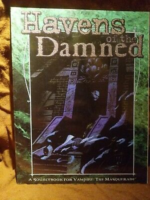 WW 2426 Havens of the Damned - Vampire the Masquerade - World of Darkness