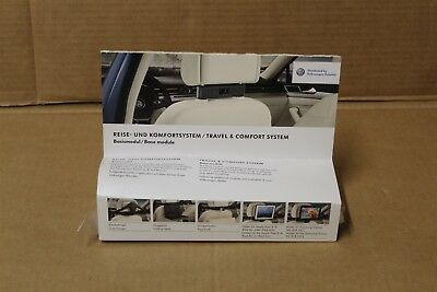 VW Base Module for Travel Comfort System 000061122A New Genuine VW part