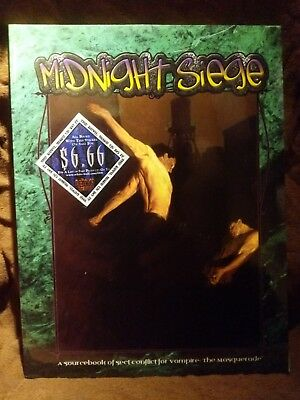 WW 2422 Midnight Siege - Vampire the Masquerade - World of Darkness