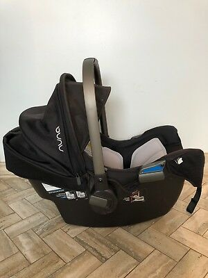 Nuna PIPA Car Seat Base Black Night Plus Snap And Go Stroller Good Condition