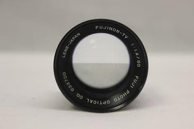 Vintage Fujinon TV F1.4/50mm C Mount Camera Lens