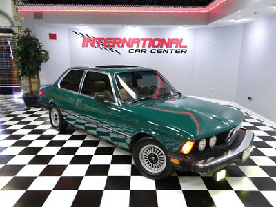 1978 BMW 320i 320i 1978 BMW 320i E21 Coupe 1 Owner 5-Spd Rust Free California Car Rare Jade Green!