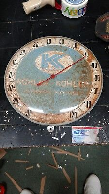 Vintage Thermometer..  Working & Perfect.. kohler Plumbing/Heating.. 12 Inches