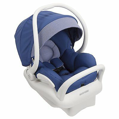 Maxi-Cosi 2015 Mico MAX 30 Infant Car Seat White Collection Blue Base Open Box!