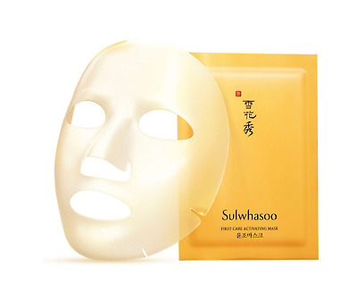 Sulwhasoo First Care Activating Mask 3pcs Moisturizing Radiance AMORE US Seller