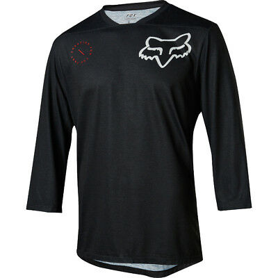 Fox Racing Indicator 3/4 Asym High Performance Jersey Breathable MoistureWicking