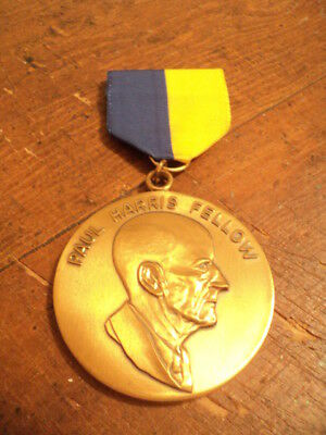 Vintage Medal, Rotary Foundation International Paul Harris Fellow Medal