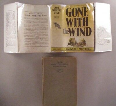 Gone With The Wind - Margaret Mitchell - 1936 1st Edition 11th Printing ~ dj