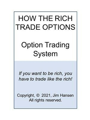How The Rich Trade Options!  Their Secret Option Trading Strategy / System.