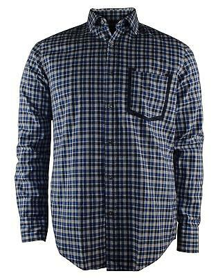 b69e781c Boss Hugo Boss Ronny Men's Long Sleeve Slim Fit Checked Print Shirt-BM-L