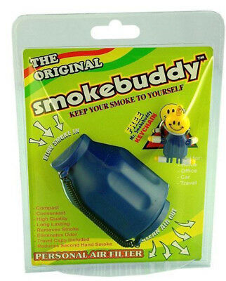 Smoke Buddy Original Personal Air Filter Blue