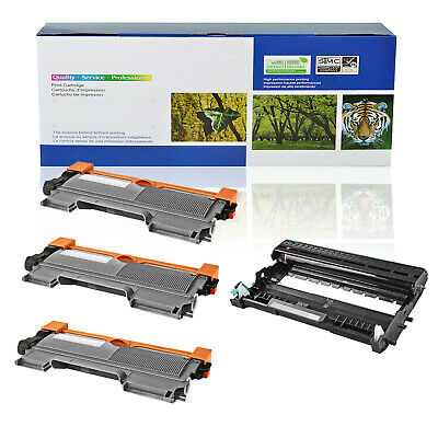 3x TN450+1x DR420 Toner Drum For Brother DCP-7060D 7065DN HL-2130 2132 2220 2230