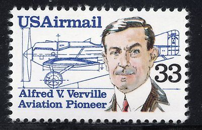 C113 - Alfred V Verville - Airmail Single Mnh