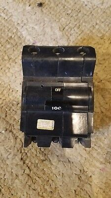 Federal Pacific 100 Amp 3 Pole 240v Ctl Breaker