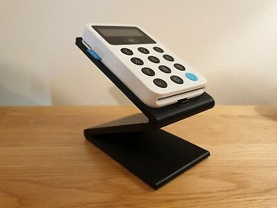 Stand for iZettle card reader - Black - point of sale Z-shaped dock *STAND ONLY*