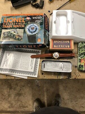 Lionel Collectable Train Watch