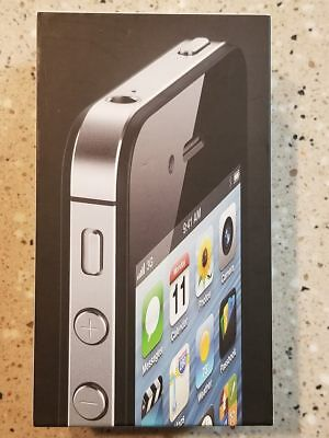 iPhone 4 8 GB Black BOX ONLY!! with Manual and Stickers...See Pictures & Listing