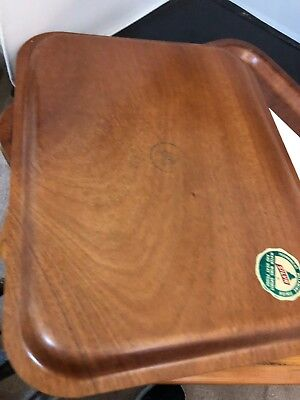 SILVA Sweden Teak Trays  MCM. Serving Vintage Swedish Scandinavian ~ 6 Trays