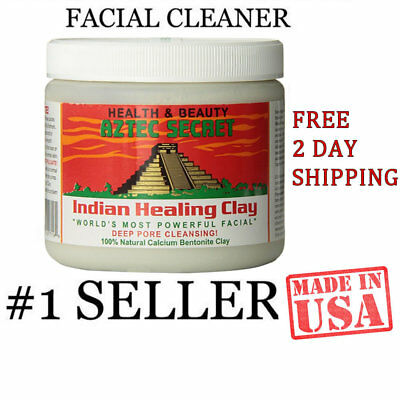 AZTEK SECRET INDIAN Healing Clay Deep Pore Cleansing Natural Face Care 1 Pound