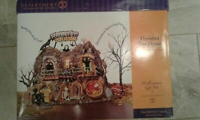 Department 56 Halloween Village Haunted Fun House *Retired*