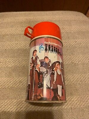 Vintage 1971 PARTRIDGE FAMILY METAL THERMOS FOR THE LUNCHBOX Bottle No.  2843