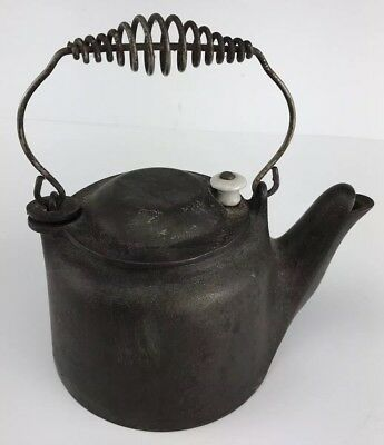 Antique Vintage WAGNER WARE -0- SIDNEY Water Pot Kettle Swivel Top