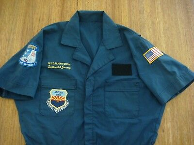 Confederate Air Force Flight Crew Suit - B-17G - Sentimental Journey - AZ Wing