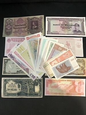 Bulk World Bank Notes x50 / World Currency