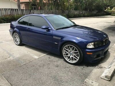 2005 BMW M3 Competition Package CS ZCP BMW M3 Competition Package E46 CS ZCP Interlagos Blue