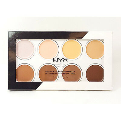 [ NYX ] Highlight & contour Cream Pro Palette