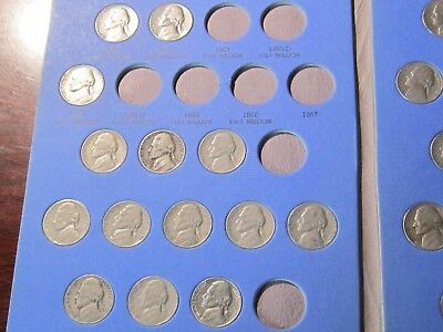 Nickel Collection  1902-1964    Liberty, Buffalo & Jefferson Nickels  59 Coins