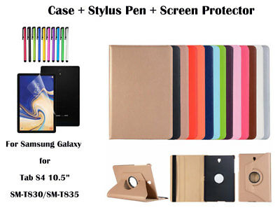 """360°Rotate PU Leather cover case for Samsung Galaxy Tab S4 10.5"""" T830/T835"""