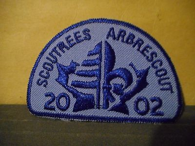 2002 Scout Trees,Boy Scouts of Canada Patch
