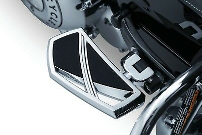 Chrome Mini Floorboards for Harley /& Other Motorcycles Front or Rear Foot Boards