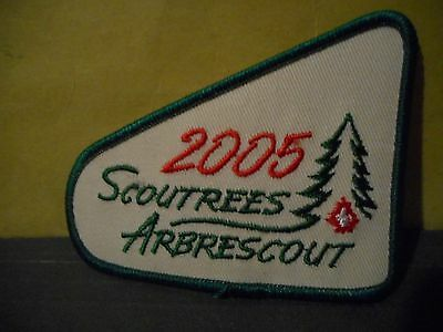2005 Scout Trees,Boy Scouts of Canada Patch