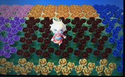 animal crossing new leaf all hybrid flowers