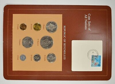 Coin Sets of All Nations - Republic of Seychelles - Stamp & Coin Set *3997