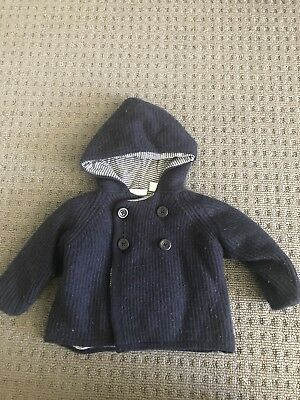 country road baby boy Woolen Jacket