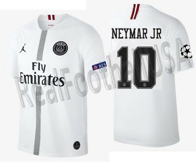 6fb79dc3674d Jordan Neymar Jr Psg Paris Saint-Germain Champions League Away Jersey  2018 19.