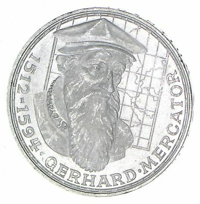 1969 Germany 5 Mark - Silver World Coin - 11.2 Grams! *196
