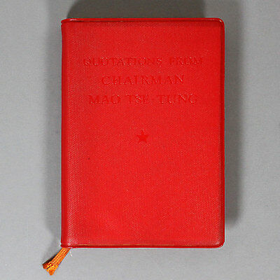 MAO'S LITTLE RED BOOK - Quotations from Chairman Mao Tse-Tung - 1966 - TRUE 1st