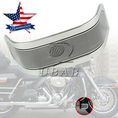 Front Fender Trim Skirt For Harley Road King Electra Tri Glide Touring 80-13 US