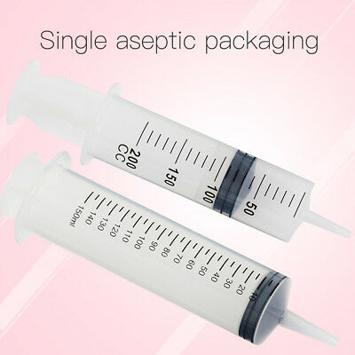 Medical Measuring Syringes Enteral Lure Hydroponic / Oral Feeding150ml/200ml