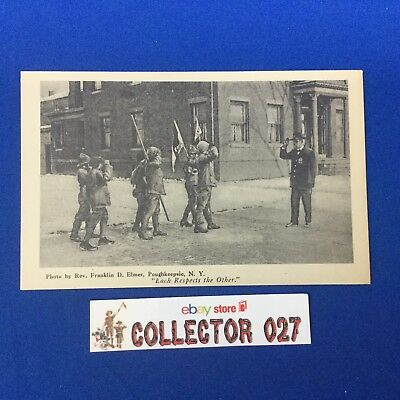 Official Boy Scout Post Card Poughkeepsie N.Y.