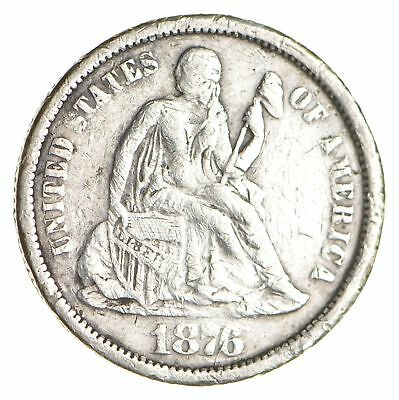 Historic 1876 Seated Liberty Dime *769