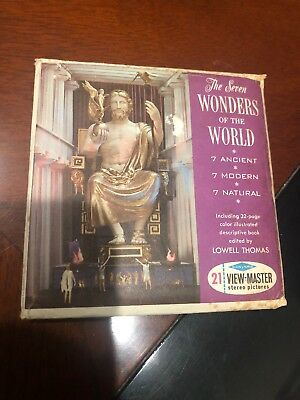 The Seven Wonders Of The World View Masters 1962