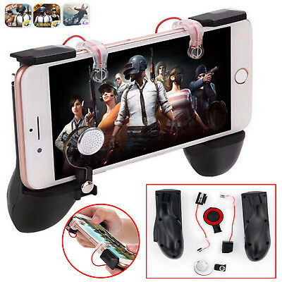 MV Mobile Gamepad Trigger L1R1 Fire Button Shooter Controller For iOS Android