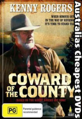 Coward Of The County DVD NEW, FREE POSTAGE WITHIN AUSTRALIA REGION ALL