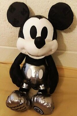 NWT Disney Steamboat Willie January Mickey Mouse Memories Limited Release Plush